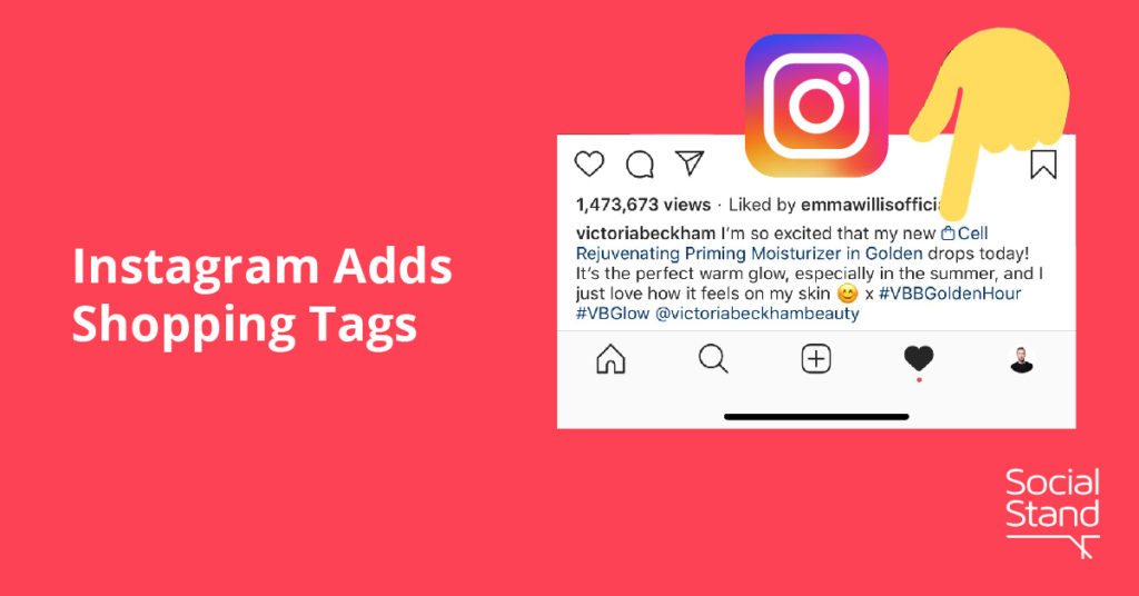 Instagram Adds Shopping Tags