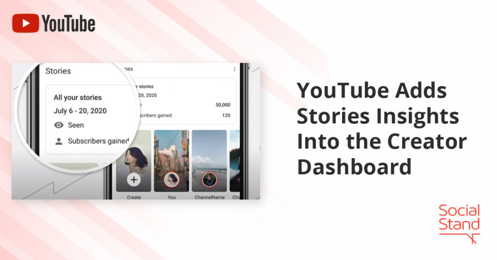 YouTube Adds Stories Insights Into the Creator Dashboard