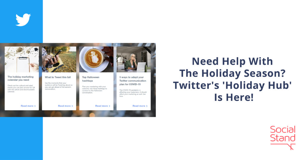 Need Help With The Holiday Season? Twitter's 'Holiday Hub' Is Here!