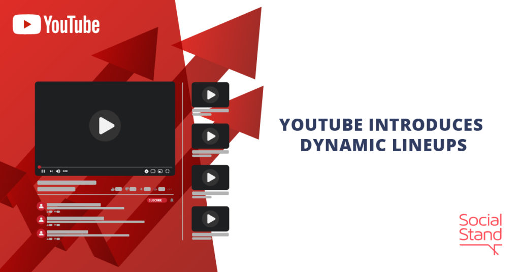 YouTube Introduces Dynamic Lineups