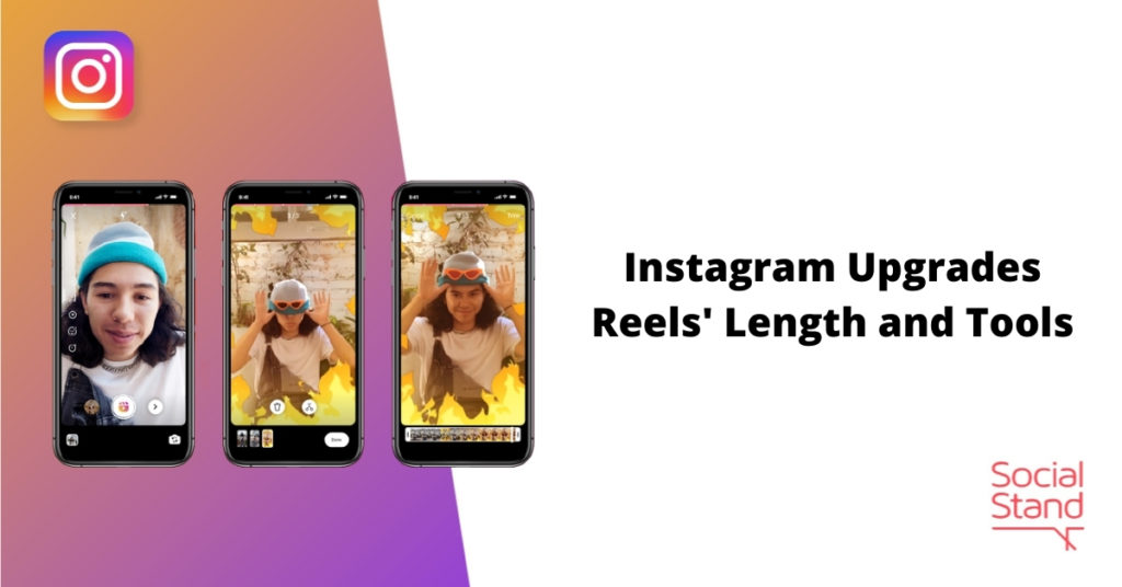 Instagram Upgrades Reels' Length and Tools
