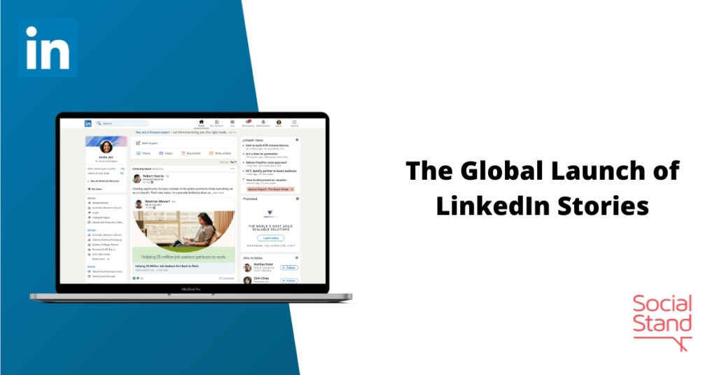 The Global Launch of LinkedIn Stories