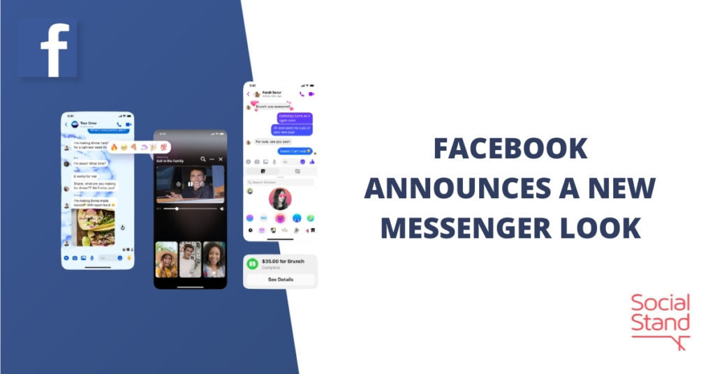 Facebook Announces a New Messenger Look