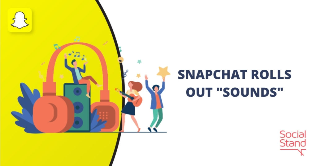 """Snapchat Rolls Out """"Sounds"""""""