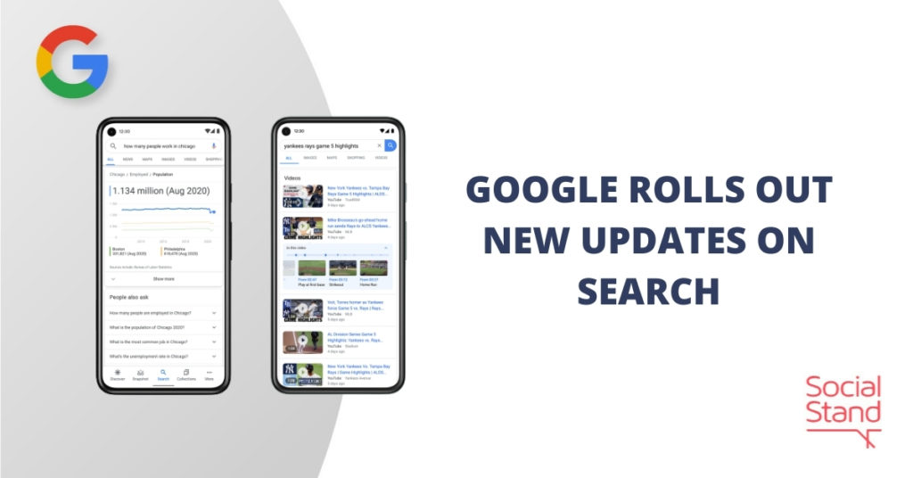 Google Rolls Out New Updates on Search