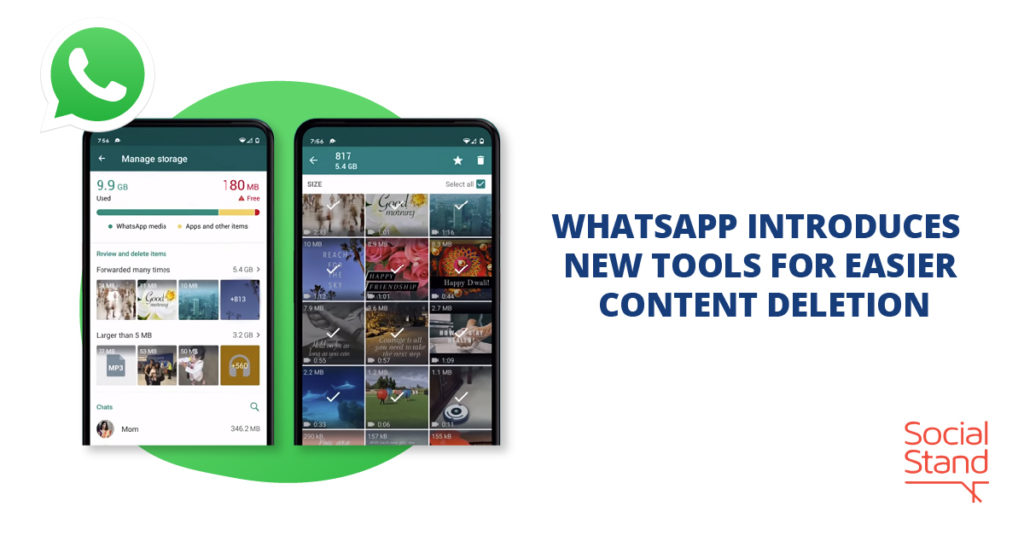 WhatsApp Introduces New Tools for Easier Content Deletion