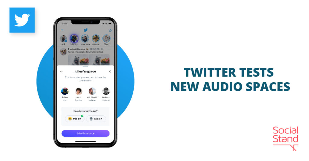 Twitter Tests New Audio Spaces