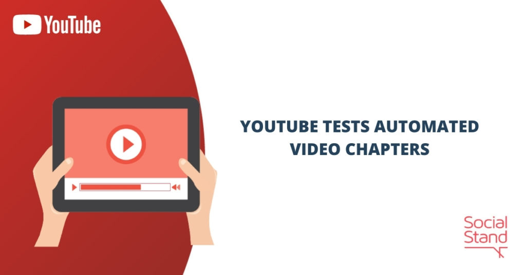 YouTube Tests Automated Video Chapters