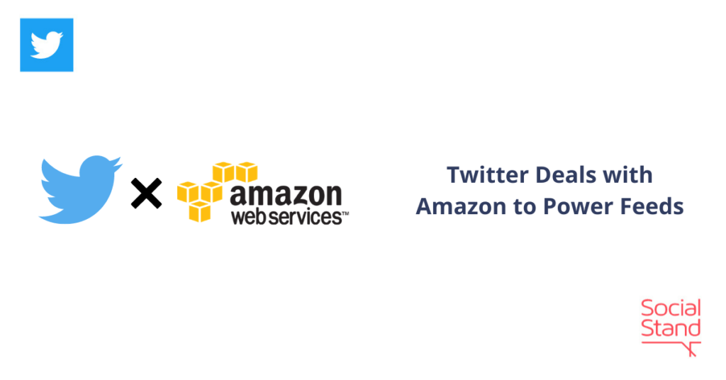 Twitter Deals with Amazon to Power Feeds