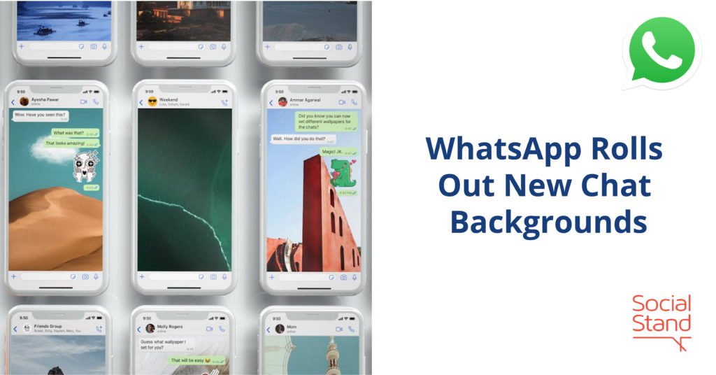 WhatsApp Rolls Out New Chat Backgrounds