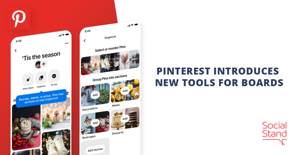Pinterest Introduces New Tools for Boards