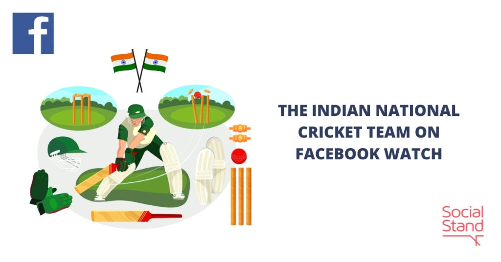 The Indian National Cricket Team on Facebook Watch