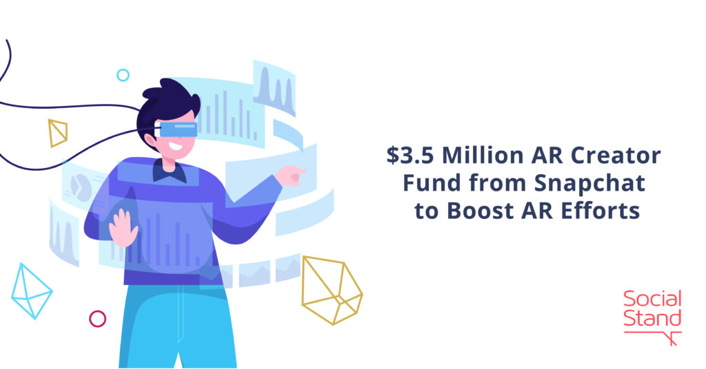 $3.5 Million AR Creator Fund from Snapchat to Boost AR Efforts