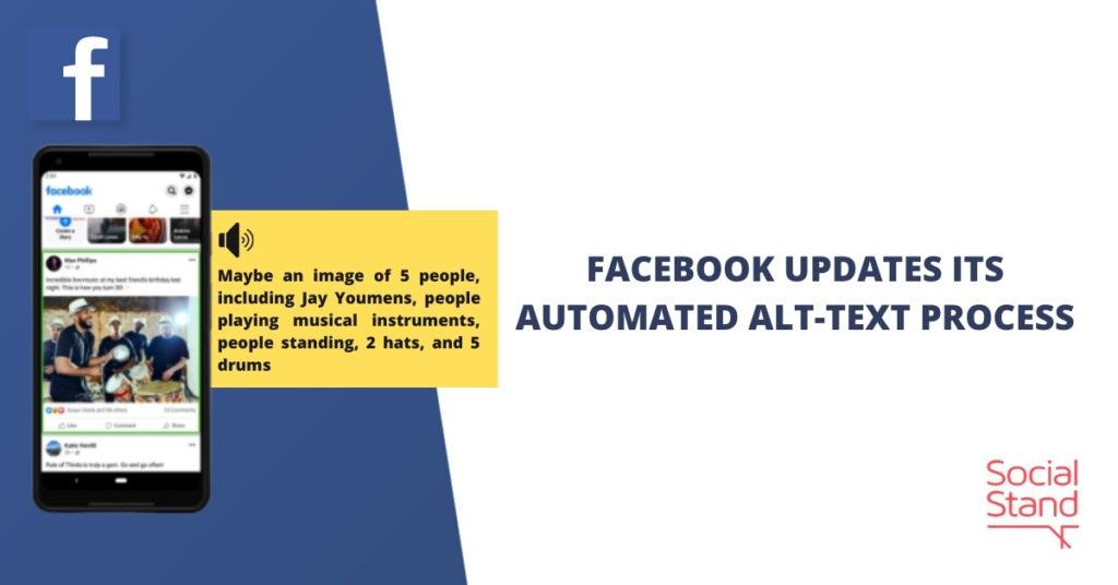 Facebook Updates Its Automated Alt-Text Process