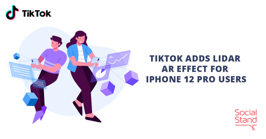 TikTok Adds LiDAR AR Effect for iPhone 12 Pro Users