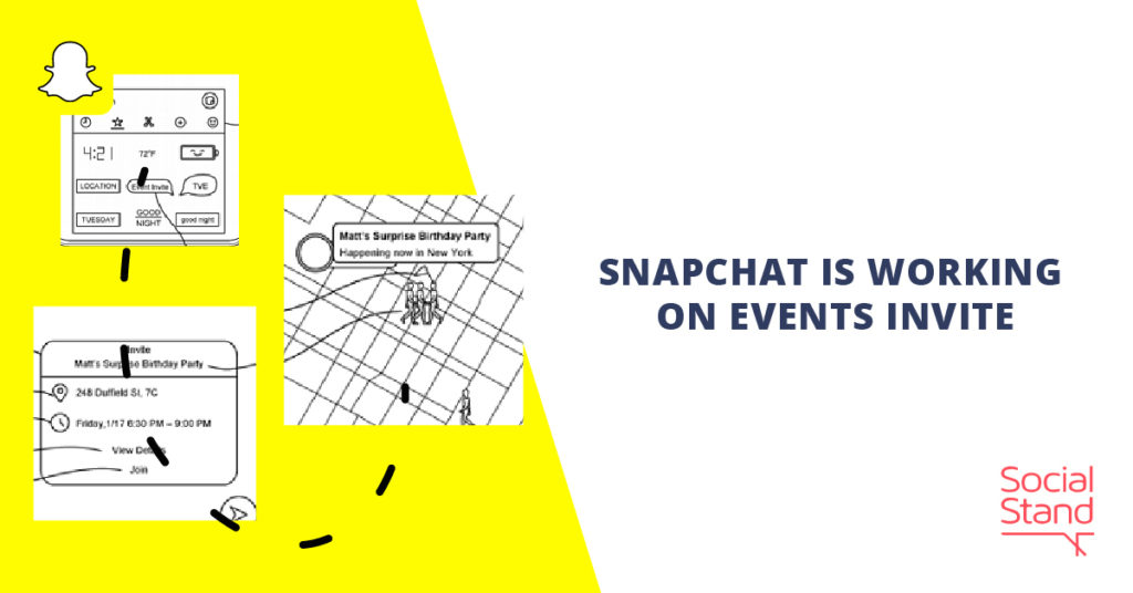 Snapchat Is Working on Events Invite