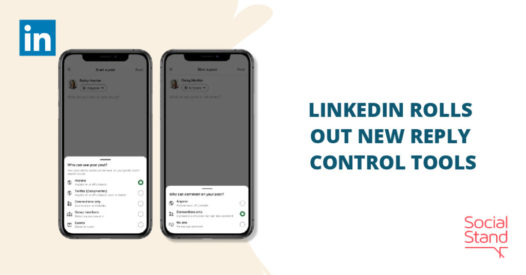 LinkedIn Rolls Out New Reply Control Tools