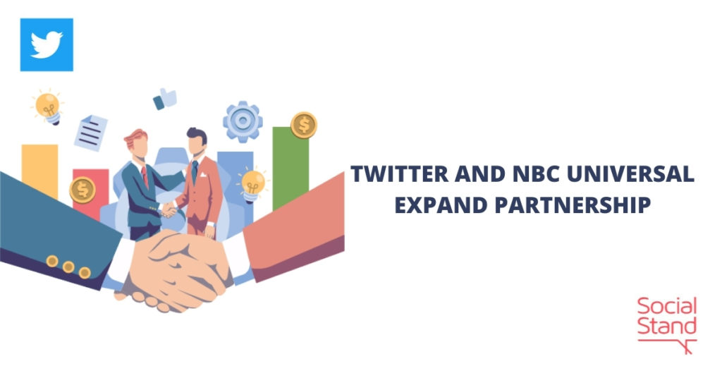Twitter and NBCUniversal Expand Partnership
