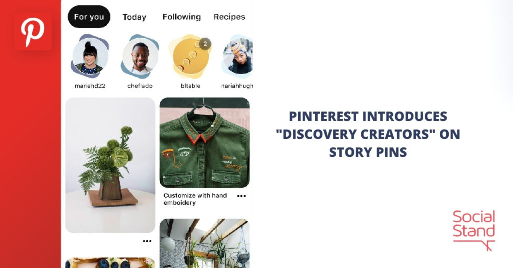 """Pinterest Introduces """"Discover Creators"""" on Story Pins"""