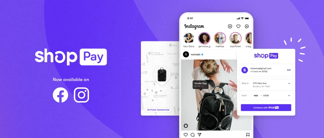 Shop Pay Integrates with Facebook and Instagram