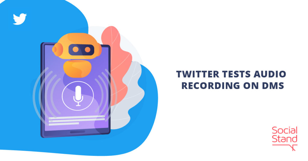 Twitter Tests Audio Recording on DMs