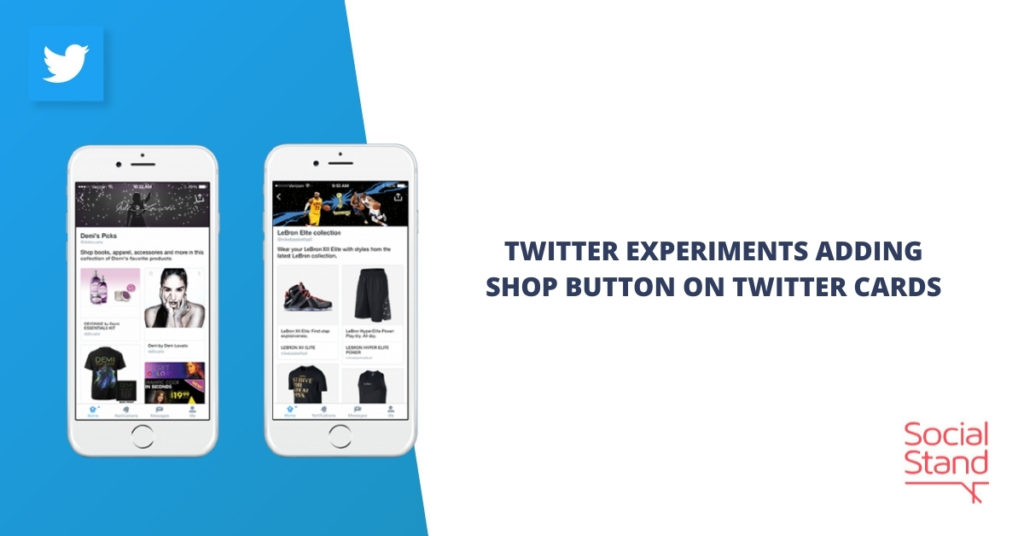 Twitter Experiments Adding Shop Button on Twitter Cards