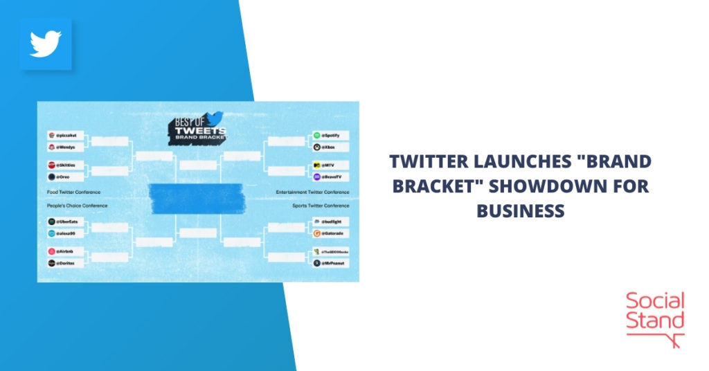 """Twitter Launches """"Brand Bracket"""" Showdown for Businesses"""