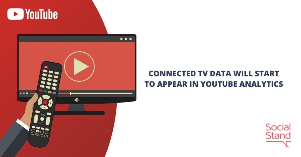 Connected TV Data Will Start to Appear in YouTube Analytics