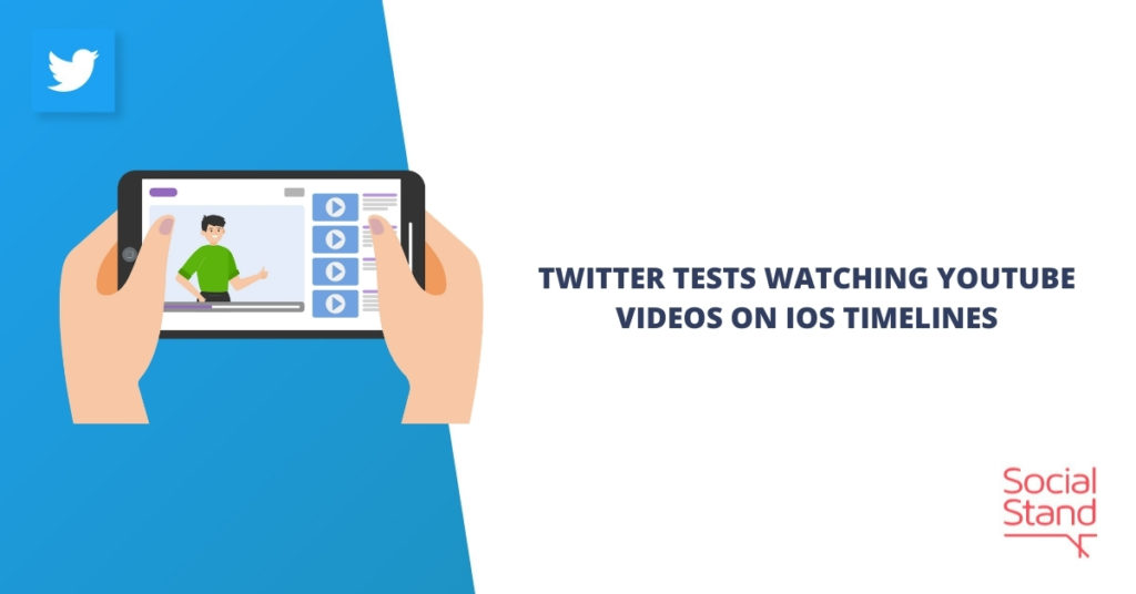 Twitter Tests Watching YouTube Videos on iOS Timelines
