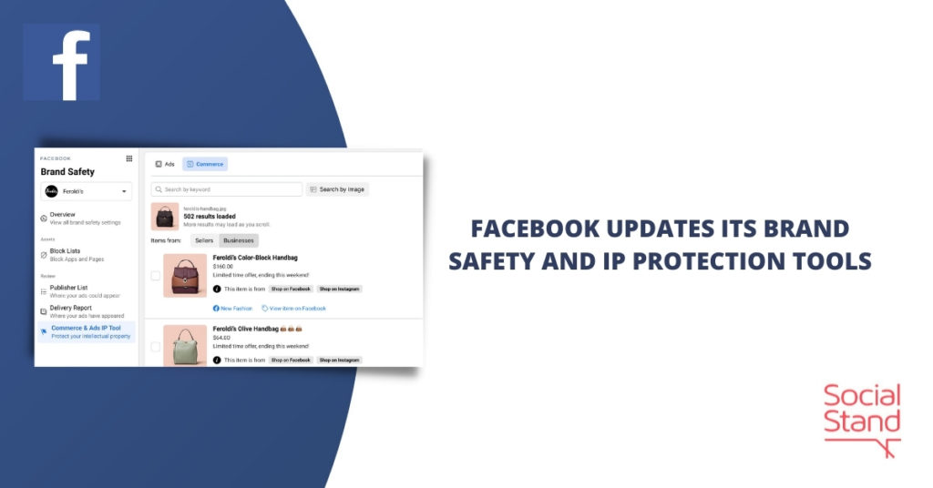 Facebook Updates Its Brand Safety and IP Protection Tools