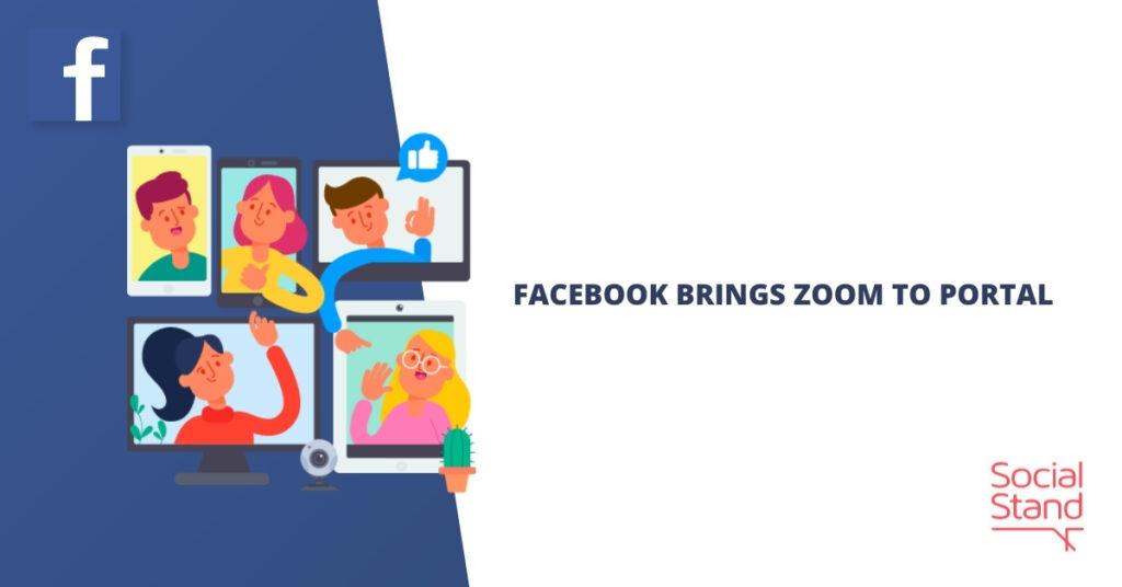 Facebook Brings Zoom to Portal