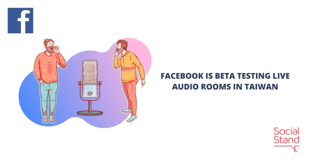 Facebook is Beta Testing Live Audio Rooms in Taiwan