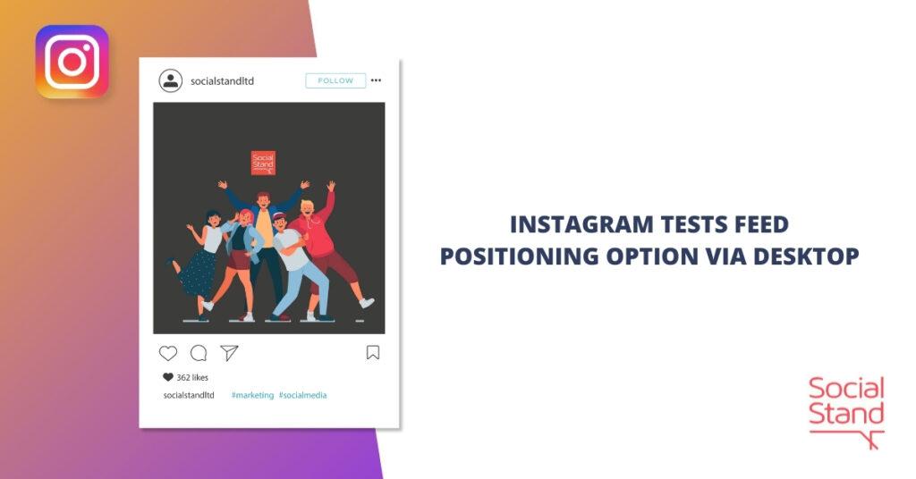 Instagram Tests Feed Posting Option via Desktop