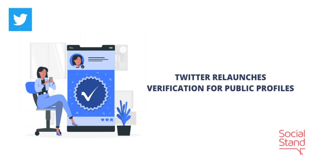 Twitter Relaunches Verification for Public Profile