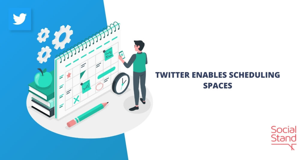 Twitter Enables Scheduling Spaces