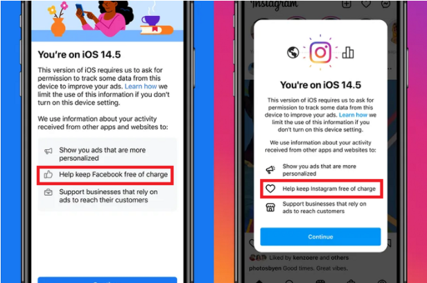 Facebook Revises Its Data Tracking Prompt for iOS 14.5
