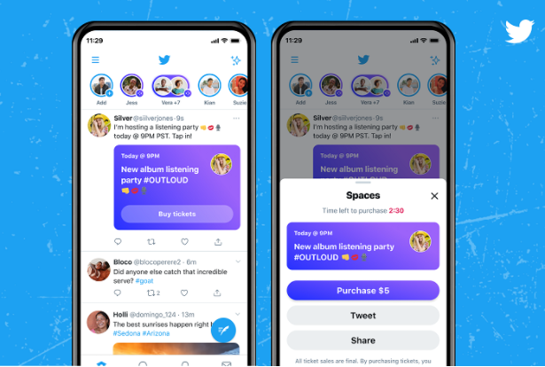 Twitter Globally Launches Spaces