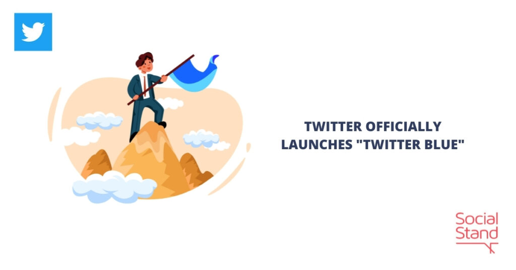 """Twitter Officially Launches """"Twitter Blue"""""""