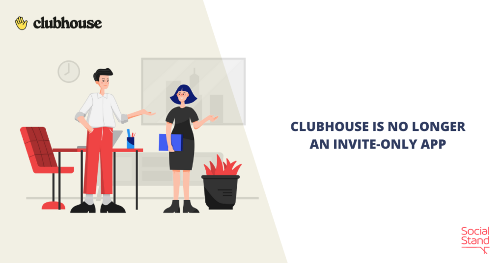 Clubhouse Is No Longer an Invite-Only App