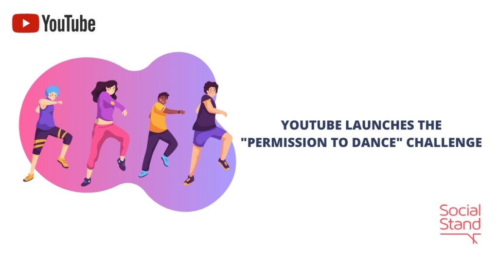 """YouTube Launches the """"Permission to Dance"""" Challenge"""