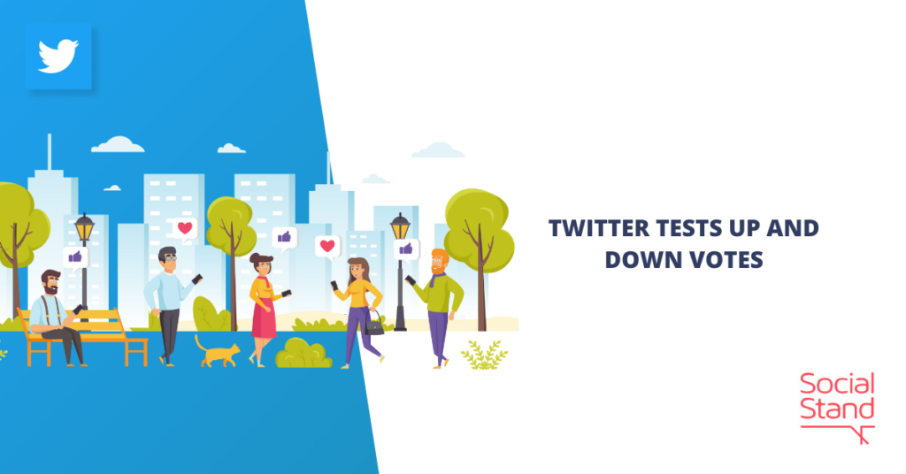 Twitter Tests Up and Down Votes
