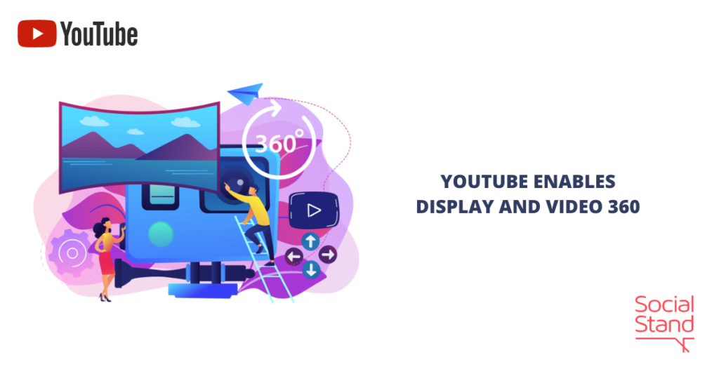 YouTube Enables Display and Video 360