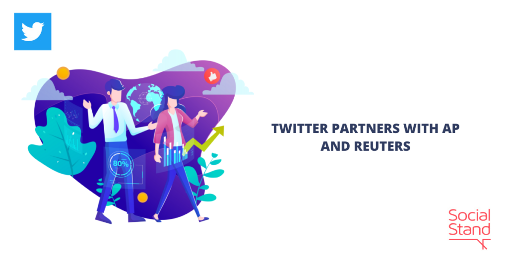Twitter Partners with AP and Reuters