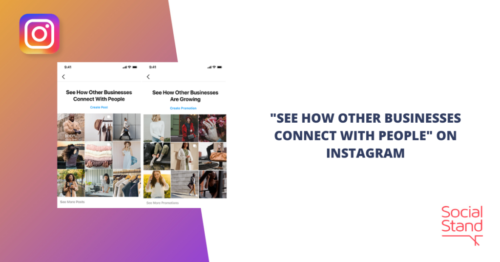 """""""See How Other Businesses Connect with People"""" on Instagram"""