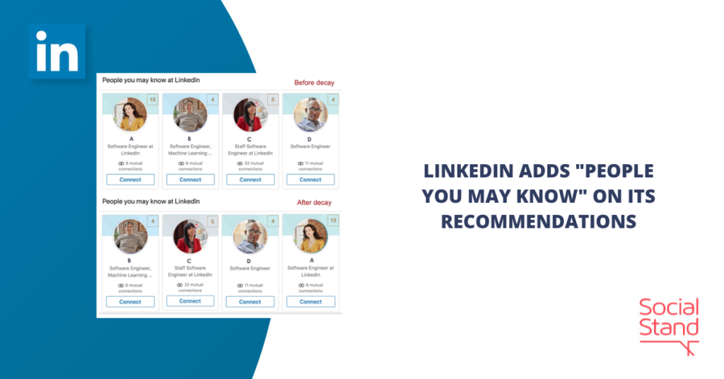 """LinkedIn Adds """"People You May Know"""" on Its Recommendations"""