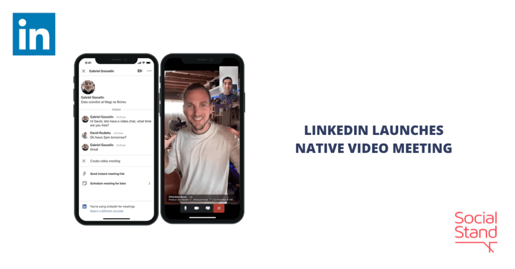 LinkedIn Launches Native Video Meetings