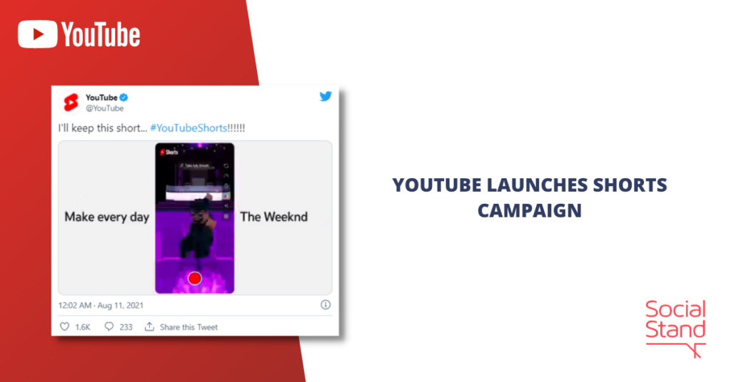 YouTube Launches Shorts Campaign