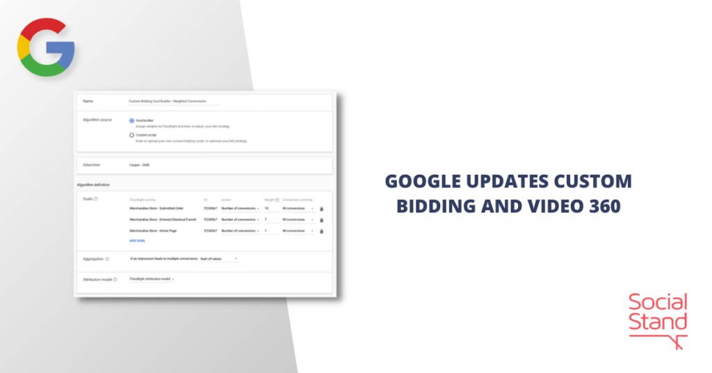 Google Updates Bidding and Video 360
