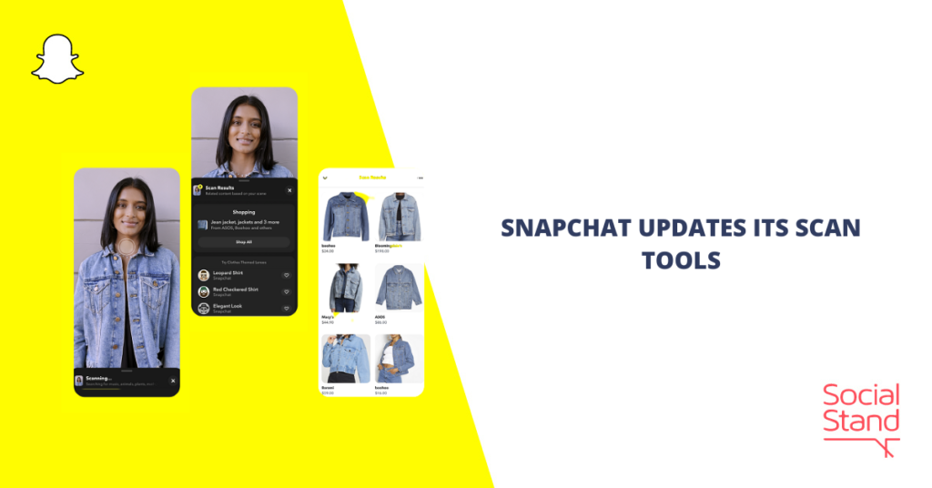 Snapchat Updates Its Scan Tools