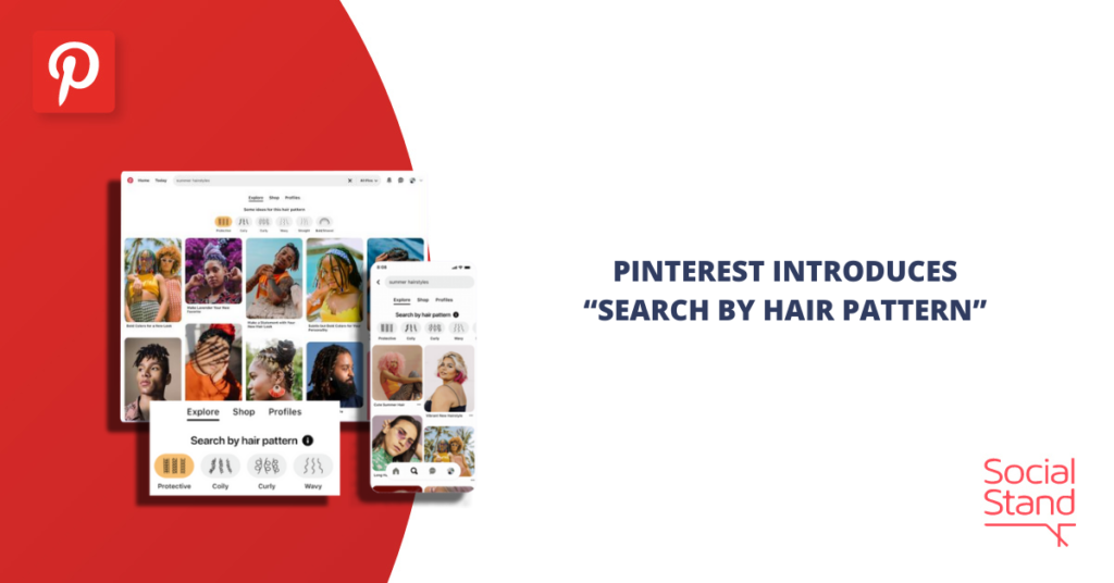 Pinterest Introduces Search by Hair Pattern